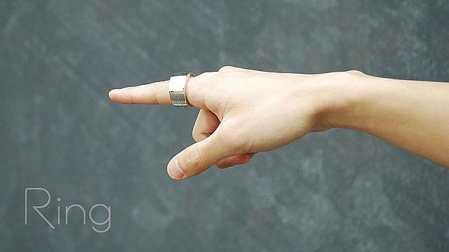 Ring, un anillo inteligente capaz de controlar dispositivos solo con gestos