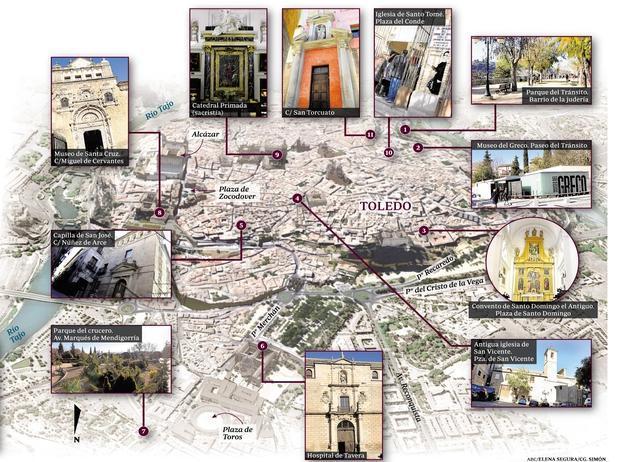 Los 11 sitios que no debes perderte en el «Año Greco» de Toledo