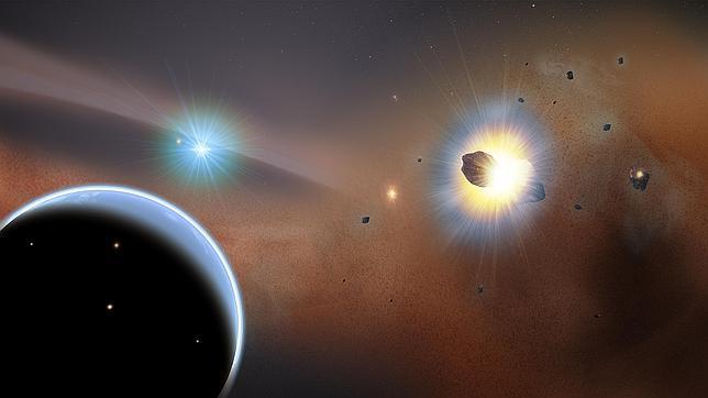 Descubren una «guerra de cometas» en un sistema cercano