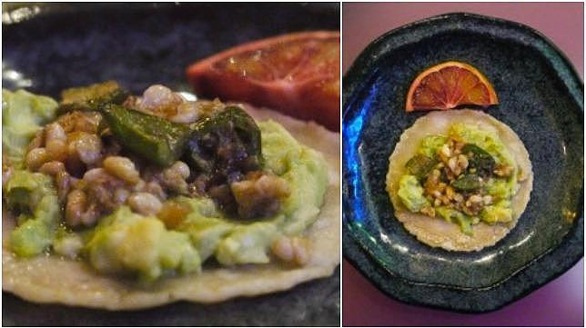 Un sorprendente menú de insectos en un restaurante de Madrid