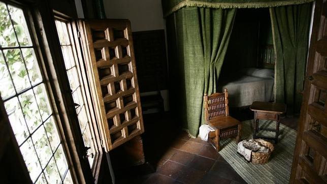Interior de la Casa de Lope de Vega en Madrid