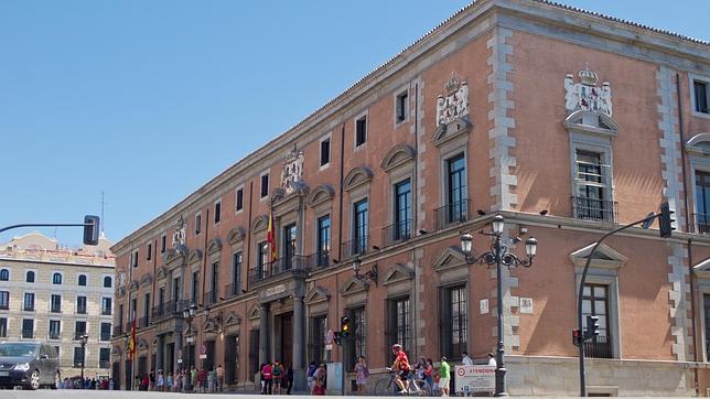 Palacio de los Duques de Uceda, sede de la Capitanía General y del Consejo de Estado