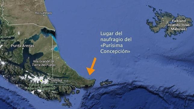 El espantoso final del Purísima Concepción en 1765, según relata uno de sus náufragos