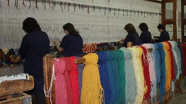 Real f brica de tapices tres siglos tejiendo la historia - Fabricas de cristal en espana ...