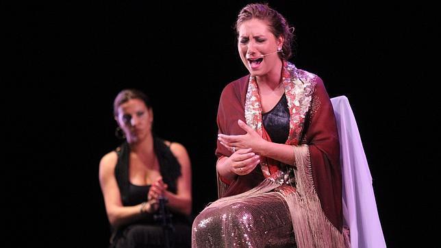 Espectaculo de Marina Heredia, en el Teatro de la Maestranza