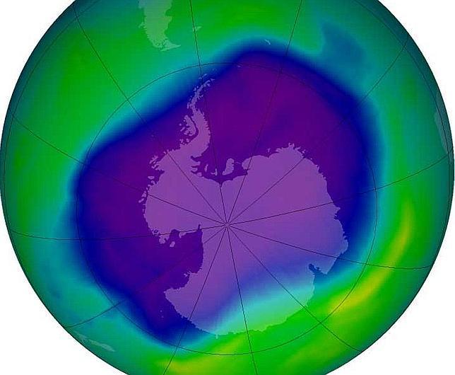 Unos misteriosos nuevos gases producidos por el hombre destruyen la capa de ozono