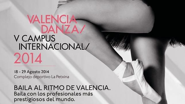Cartel del Campus Internacional Valencia Danza
