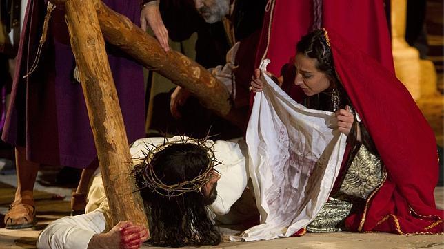 Recreación de la Pasión de Jesús