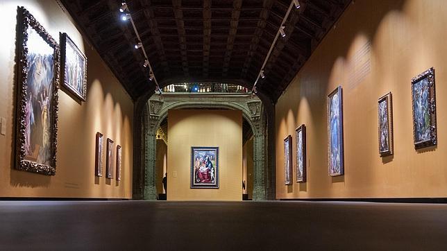 El Santa Cruz ya está listo para abrir las puertas de la gran exposición del Greco
