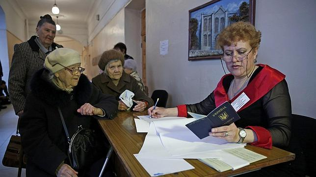 El 96,77% de los votantes de Crimea apoyan la adhesión a Rusia