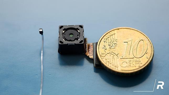 la cámara fotográfica más pequeña del mundo