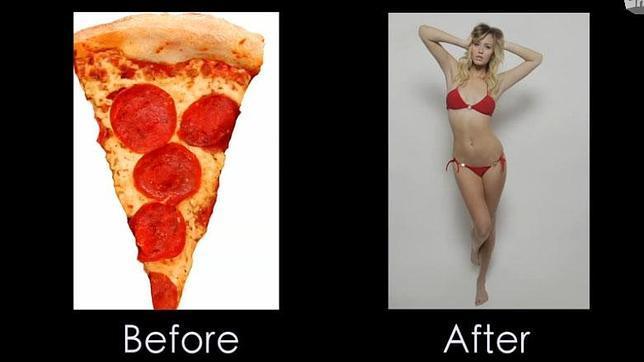 De Mujer Sexy A Trozo De Pizza El Curioso Vídeo Sobre