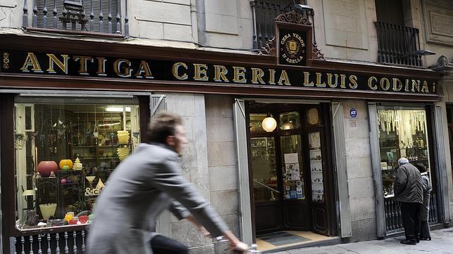 Fachada de la Antigua Cerería Lluís Codina