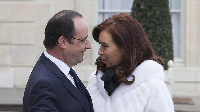 Cristina Kirchner logra el apoyo de Francia en los contenciosos con EE.UU. por la deuda
