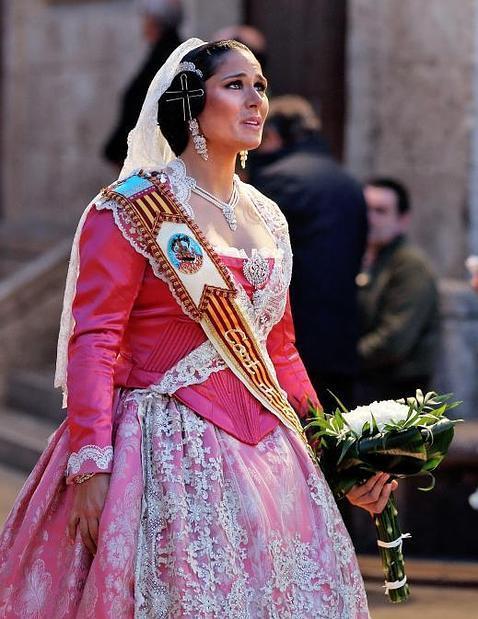 Rosa López, Fallera de Honor en Valencia