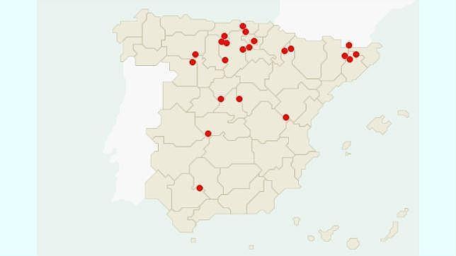 Condado De Treviño Mapa.Los Otros Trevino De Espana