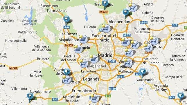Distritos madrid capital images for Marmoles y granitos zona norte