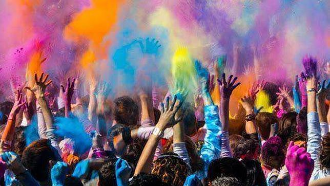La fiesta Holi teñirá Sabadell de color este domingo
