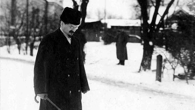 León Davidovich Trotsky en 1918