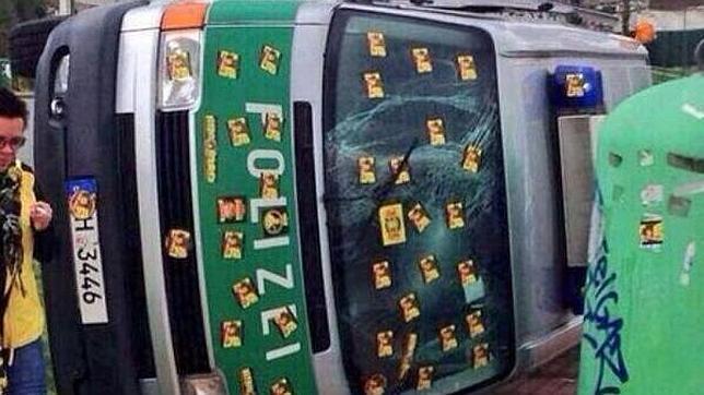 Así se las gastan los ultras del Borussia Dortmund, rival del Real Madrid en la Champions