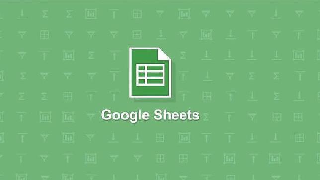 Google Sheets, las hojas de cálculo de Google