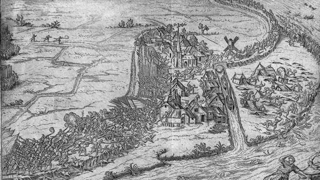 Representación de la batalla de Gemmingen