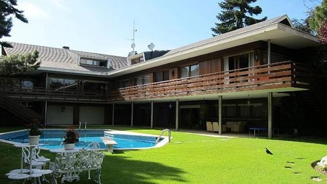 casas de lujo en madrid capital villa chalet de lujo de m