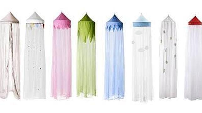 Ikea retira del mercado doseles para cunas y camas de - Ikea mantas para camas ...