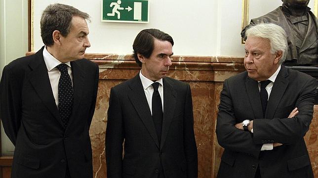 Viejos adversarios en La Moncloa, unidos por el sentido de Estado