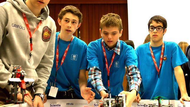 Ocho equipos españoles competirán en las finales de la First Lego League