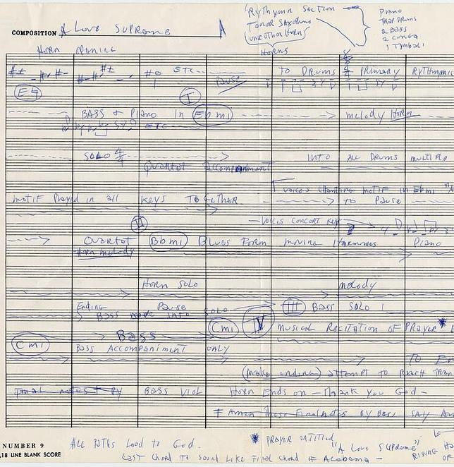Fotos inéditas y el saxofón de John Coltrane para celebrar los 50 años de «A love supreme»