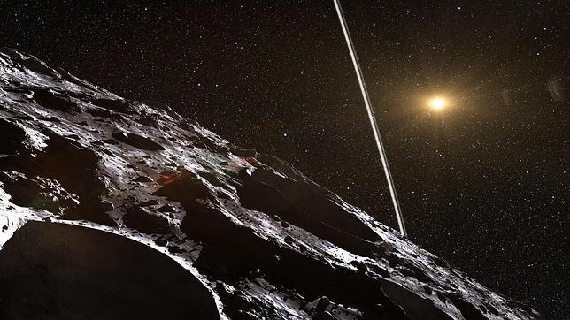 Descubren el primer asteroide con anillos dentro del Sistema Solar