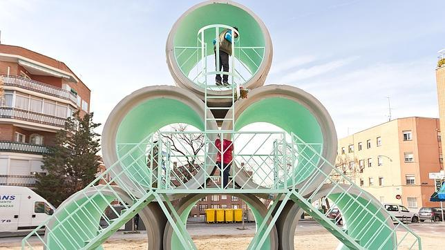 Doce sorprendentes obras de arte urbano que invaden Madrid