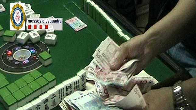 Desmantelan en Barcelona un local ilegal donde se jugaba con apuestas al Mahjong