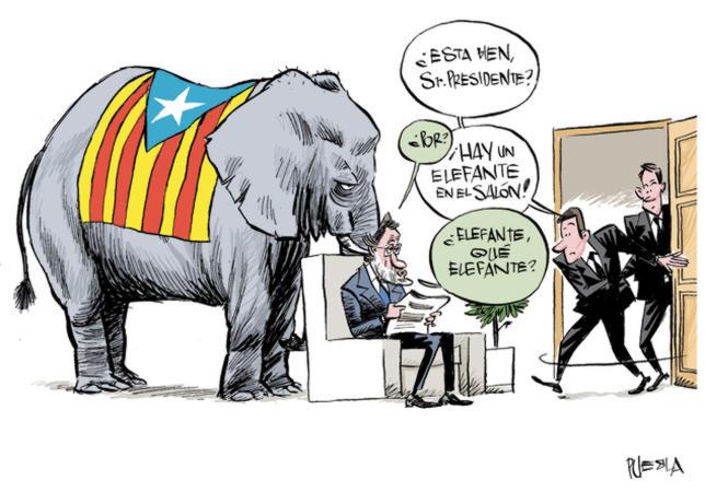 Resultat d'imatges de referendum catalunya comic