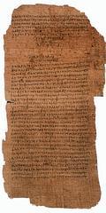 El Vaticano expondrá el papiro del Padre Nuestro más antiguo que se conoce