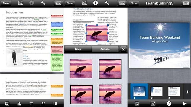 Google Drive o iWork: las mejores alternativas al Office para iPad