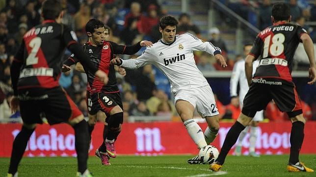 c917899a6b231 Cinco triunfos consecutivos del Real Madrid ante el Rayo