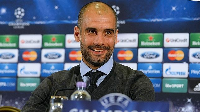Bayern boss Pep Guardiola jokes that he may have been offered the Man United job [Video]