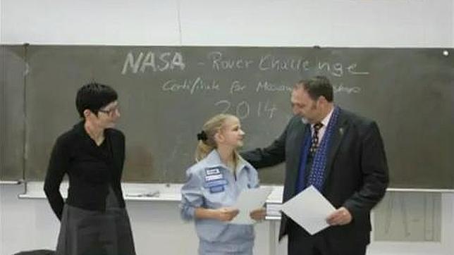 Una niña rusa inventa una nave para llegar a otros planetas mucho más rápido
