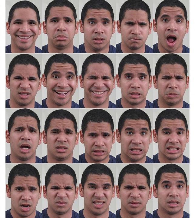 Identifican las emociones de 21 expresiones faciales - ABC.es