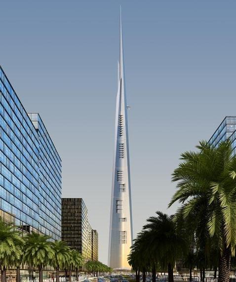 Kingdom Tower, un desafío cerca del cielo: esta torre medirá más de un kilómetro