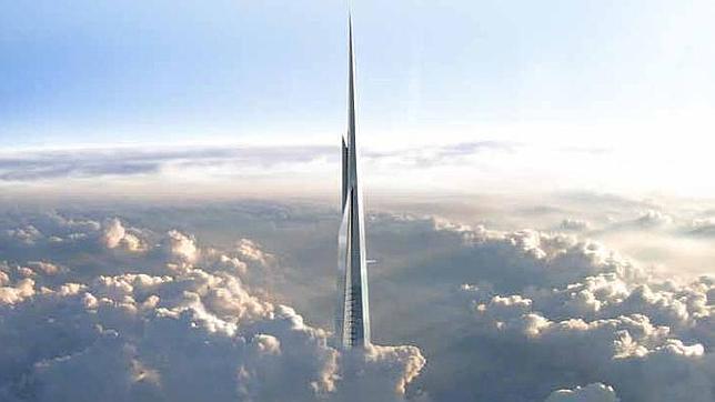 Una recreación de cómo será el extremo de la torre