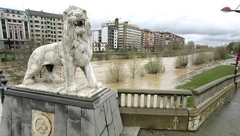 Cuatro ríos superan el nivel de alarma en León, Zamora y Salamanca