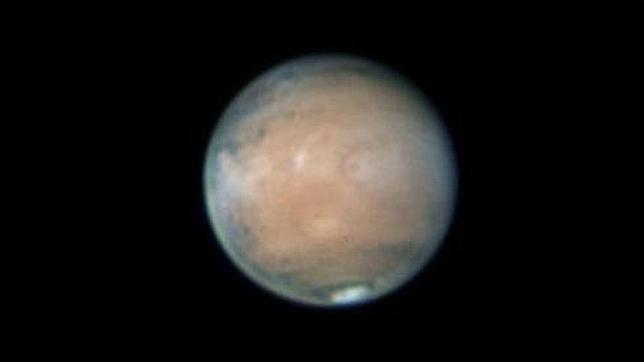 Marte se acerca y aparece más grande y brillante que nunca
