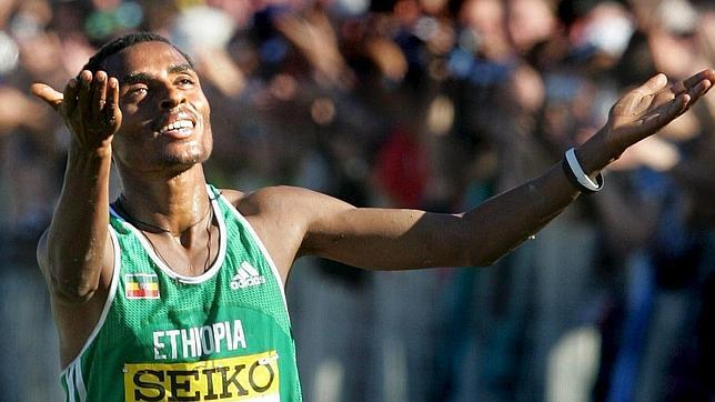Bekele apunta al récord de maratón en París
