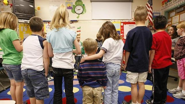 Una clase de Educación Infantil en Thornton, Colorado (EE.UU.)