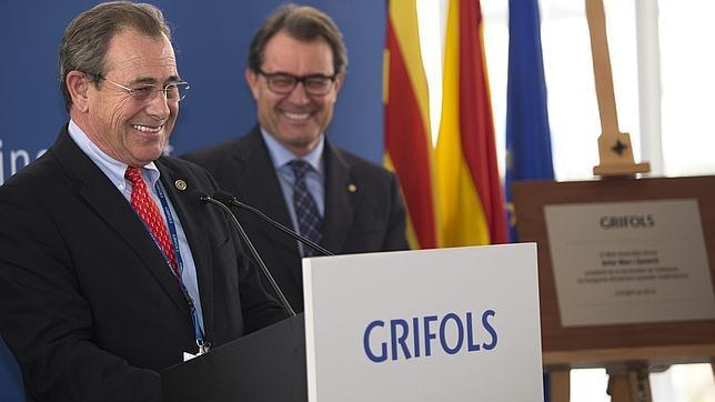 Grifols, un empresario subvencionado que quiere la secesión de Cataluña