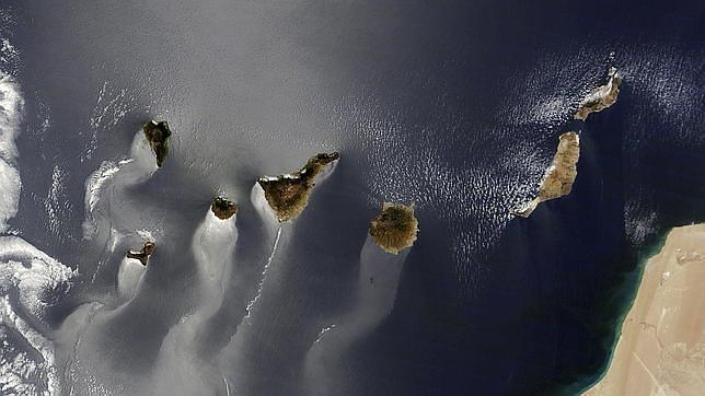 Una foto de las islas Canarias, mejor imagen del año para la NASA