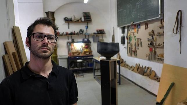 El escultor Pablo Capitán Santiago ZorillaSantiago Zorilla
